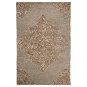 Signature Design by Ashley Traditional Classics Area Rugs Zavier Taupe Medium Rug