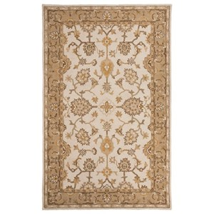 Signature Design by Ashley Traditional Classics Area Rugs Jinx Gold Large Rug