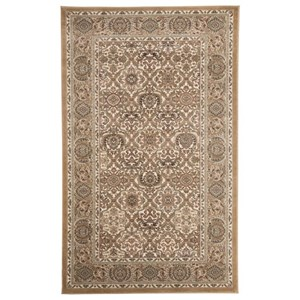 Signature Design by Ashley Traditional Classics Area Rugs Daisuke Taupe Medium Rug