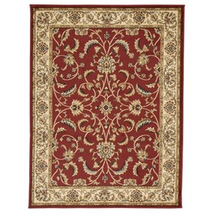 Signature Design by Ashley Traditional Classics Area Rugs Jamirah Red/Brown Large Rug