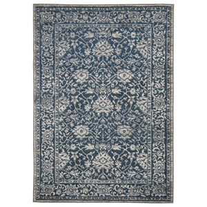 Maxton Blue Large Rug