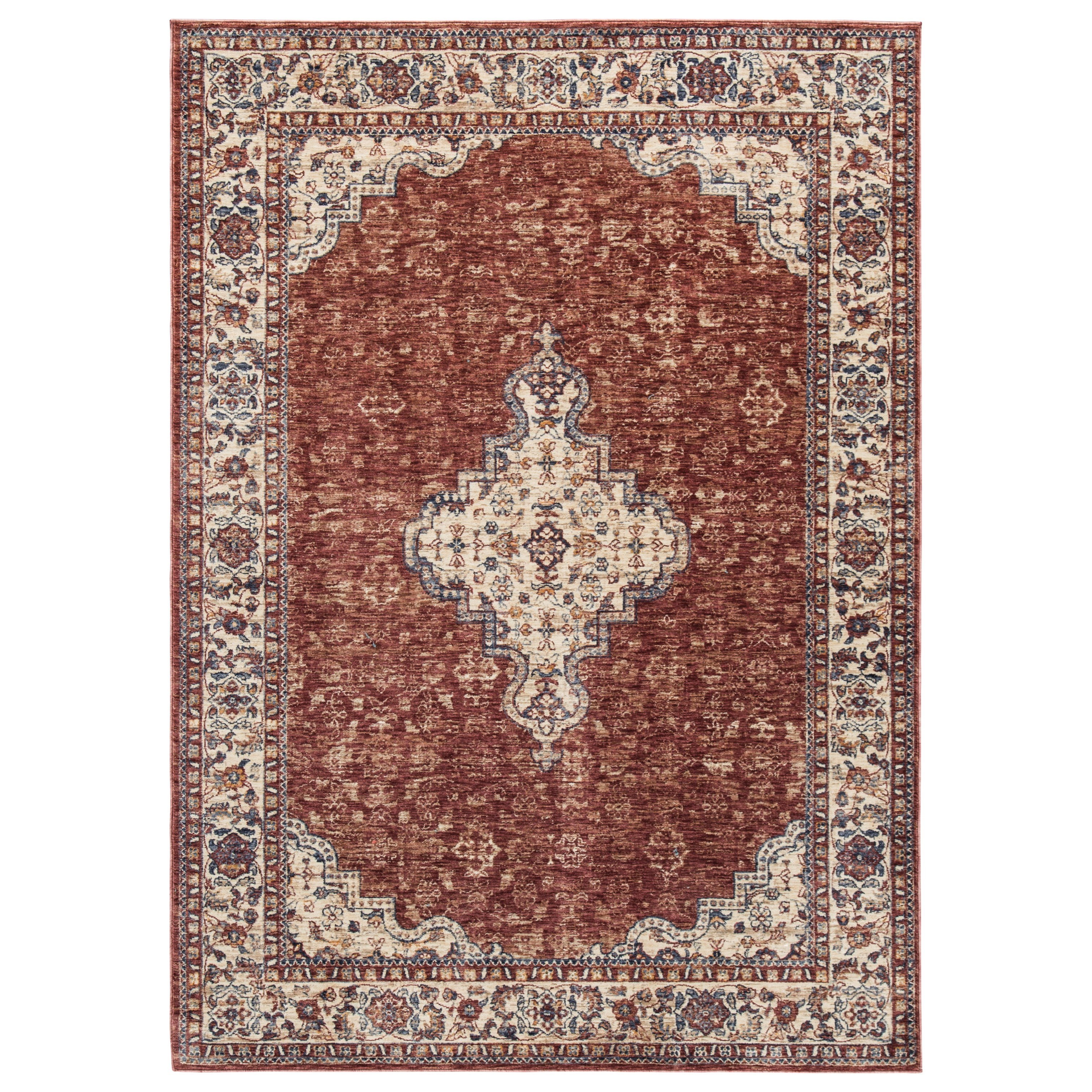 Traditional Classics Area Rugs Haydrien Red Medium Rug by Signature Design by Ashley at Coconis Furniture & Mattress 1st
