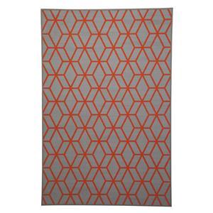 Signature Design by Ashley Transitional Area Rugs Rico Orange Medium Rug
