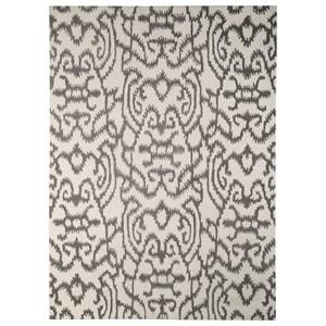 Signature Design by Ashley Transitional Area Rugs Benbrook Gray/Ivory Medium Rug