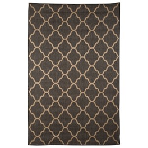 Signature Design by Ashley Transitional Area Rugs Daponte Gray Large Rug