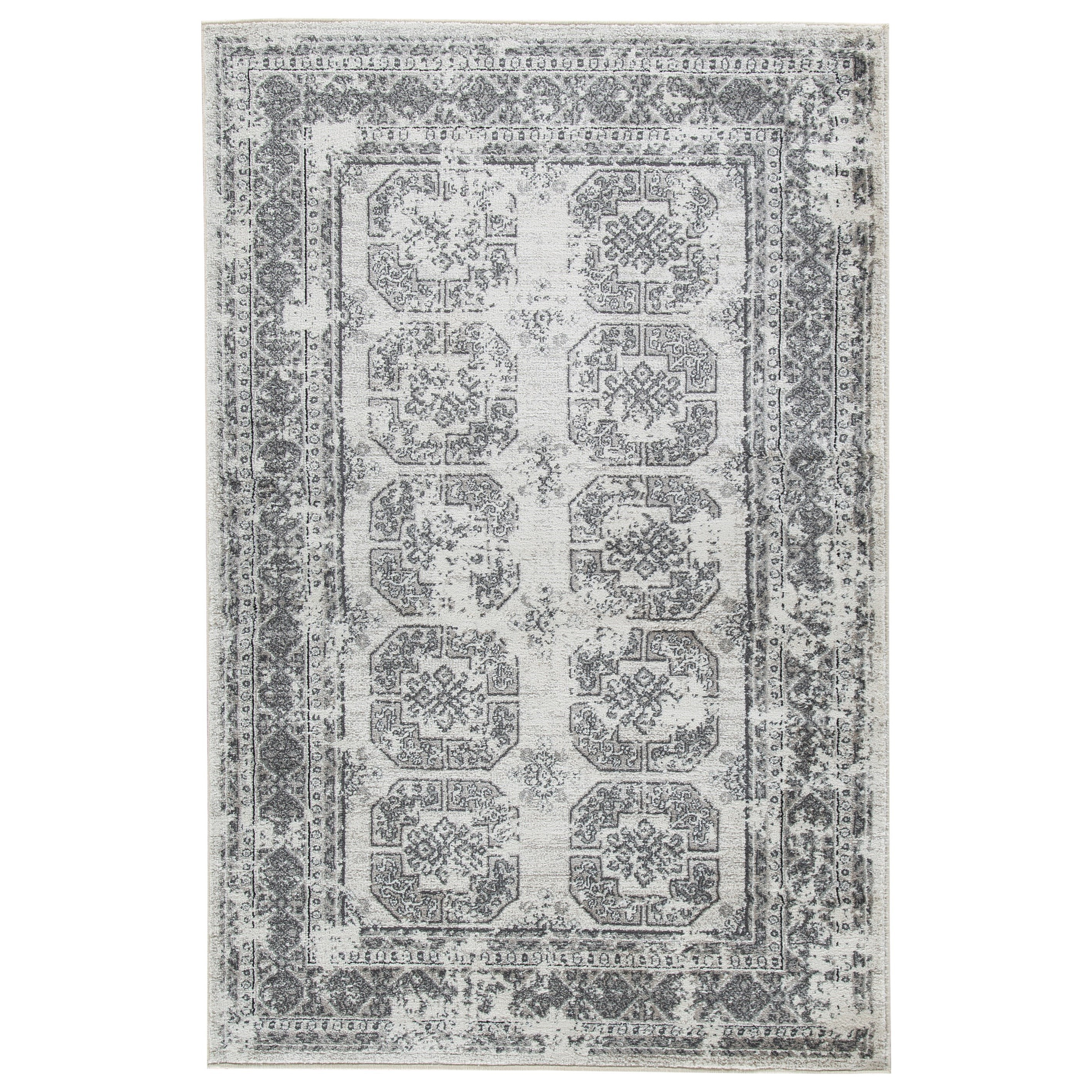 Transitional Area Rugs Jirou Gray/Taupe Medium Rug by Signature Design by Ashley at Zak's Warehouse Clearance Center