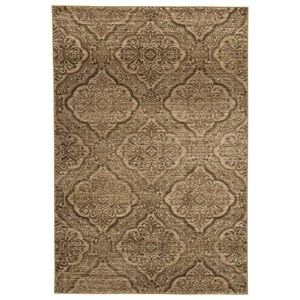 Jette Tan/Brown Medium Rug