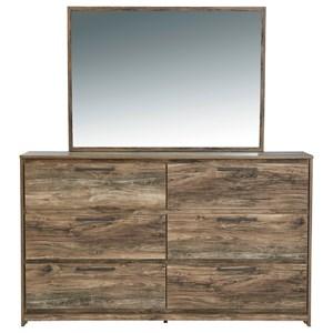 Rustic Modern Dresser & Bedroom Mirror