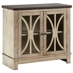 Signature Design by Ashley Vennilux Door Accent Cabinet