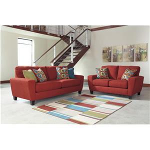 Signature Design by Ashley Sagen Stationary Living Room Group