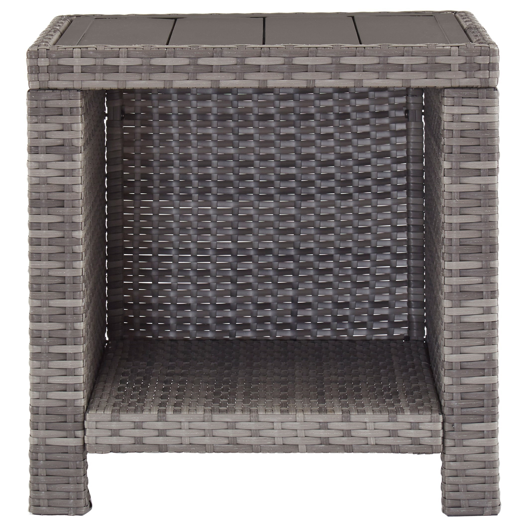 Salem Beach Square End Table by Signature at Walker's Furniture