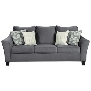 Sofa with Flare Track Arms