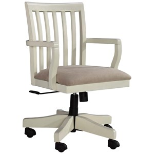 Signature Design by Ashley Sarvanny Home Office Desk Chair