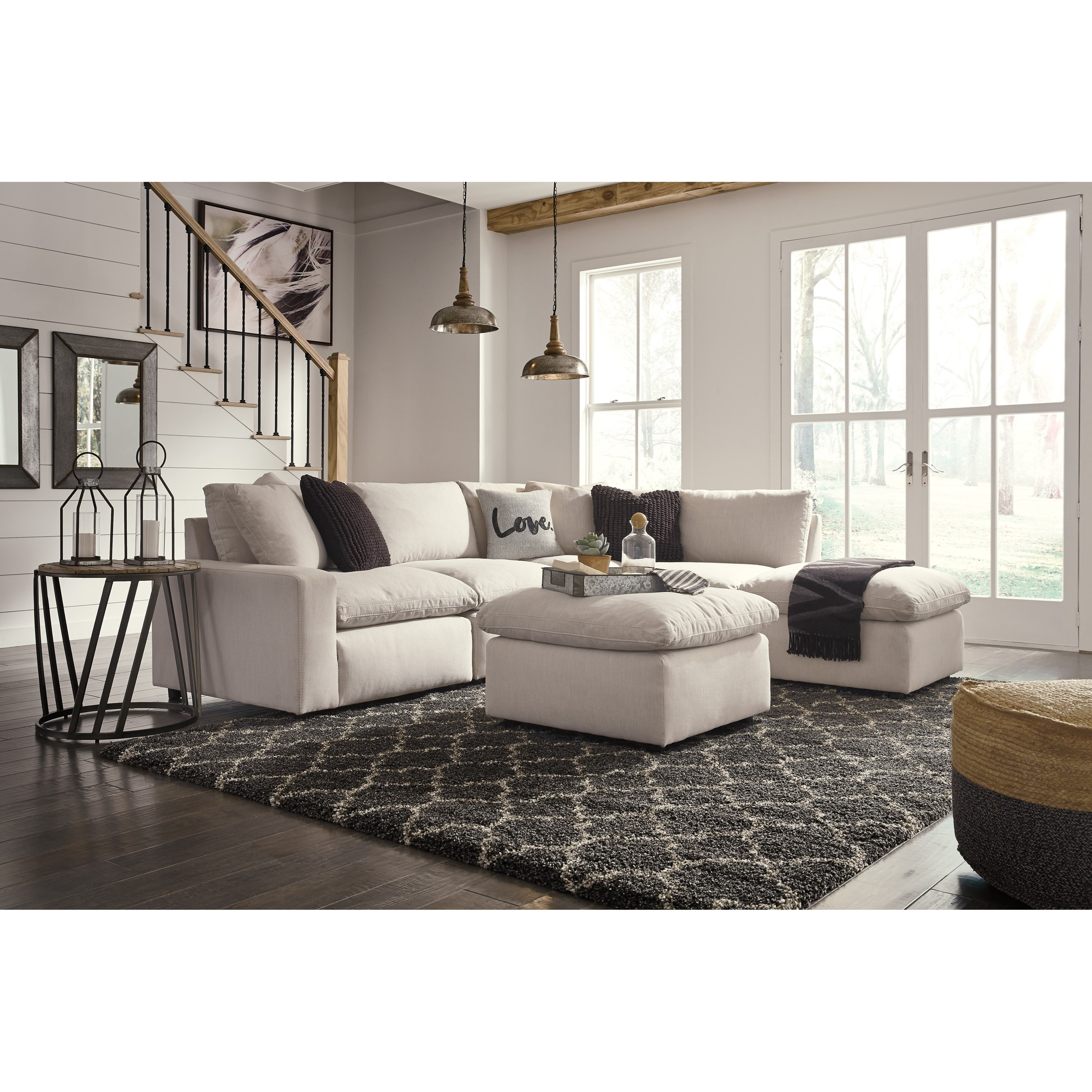 Savesto 6-Piece Sectional by Signature Design by Ashley at Rife's Home Furniture