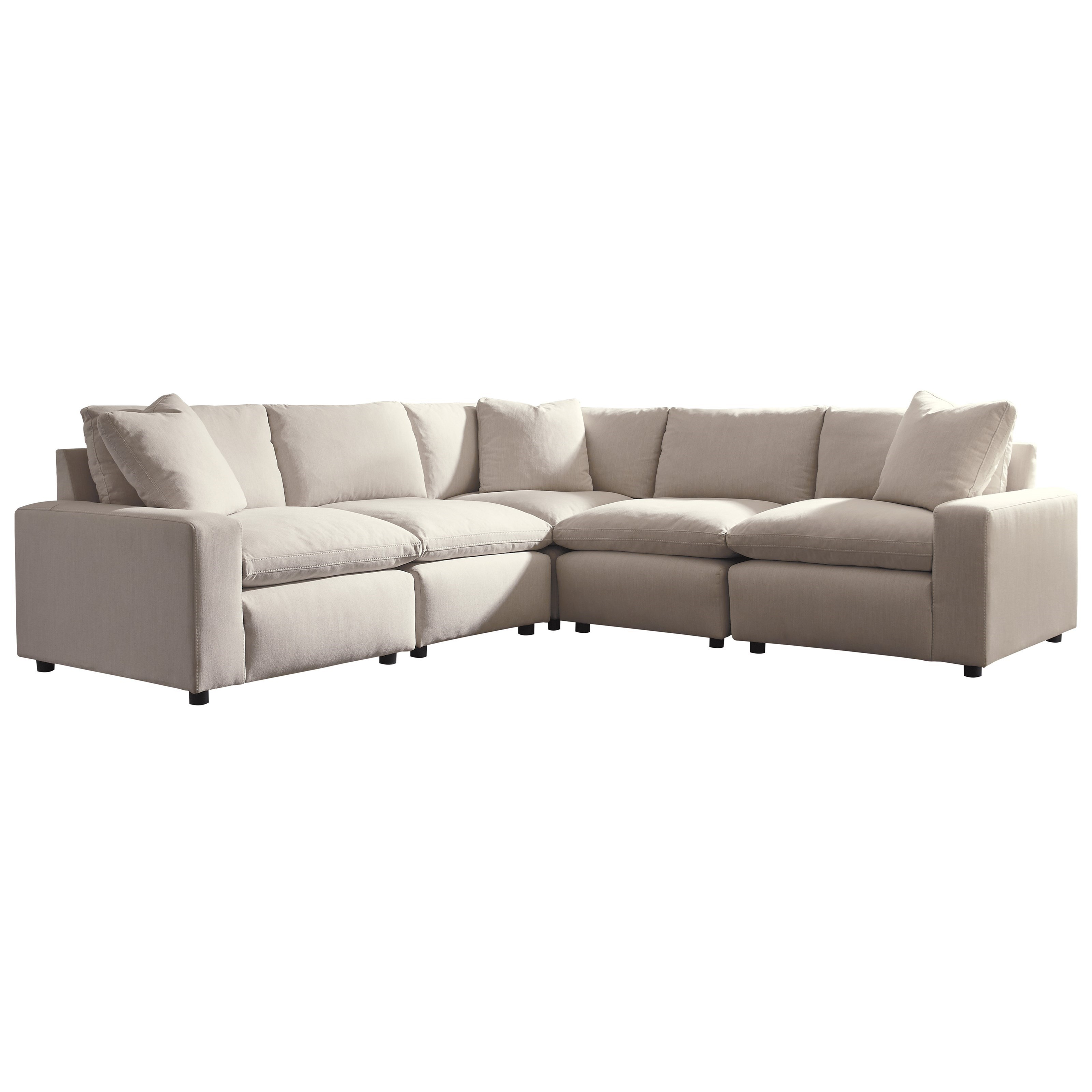 Savesto 5-Piece Sectional by Signature Design by Ashley at Beck's Furniture