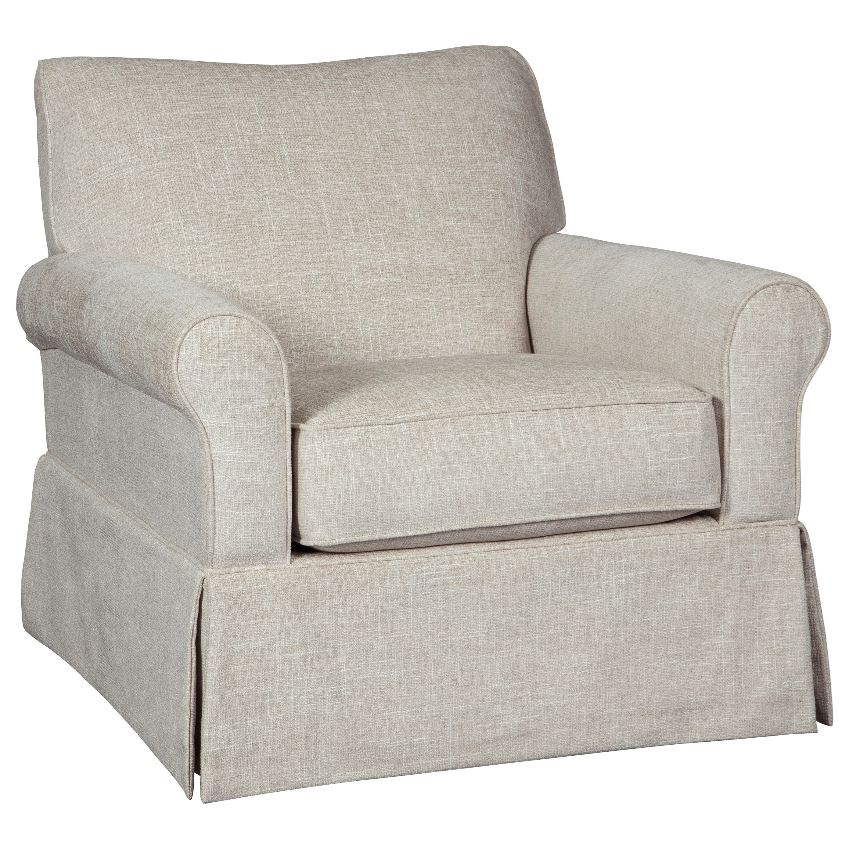 Searcy Swivel Glider Accent Chair by Ashley (Signature Design) at Johnny Janosik
