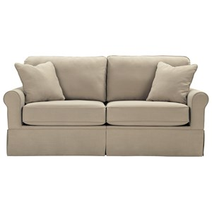 Contemporary Sofa with Skirt