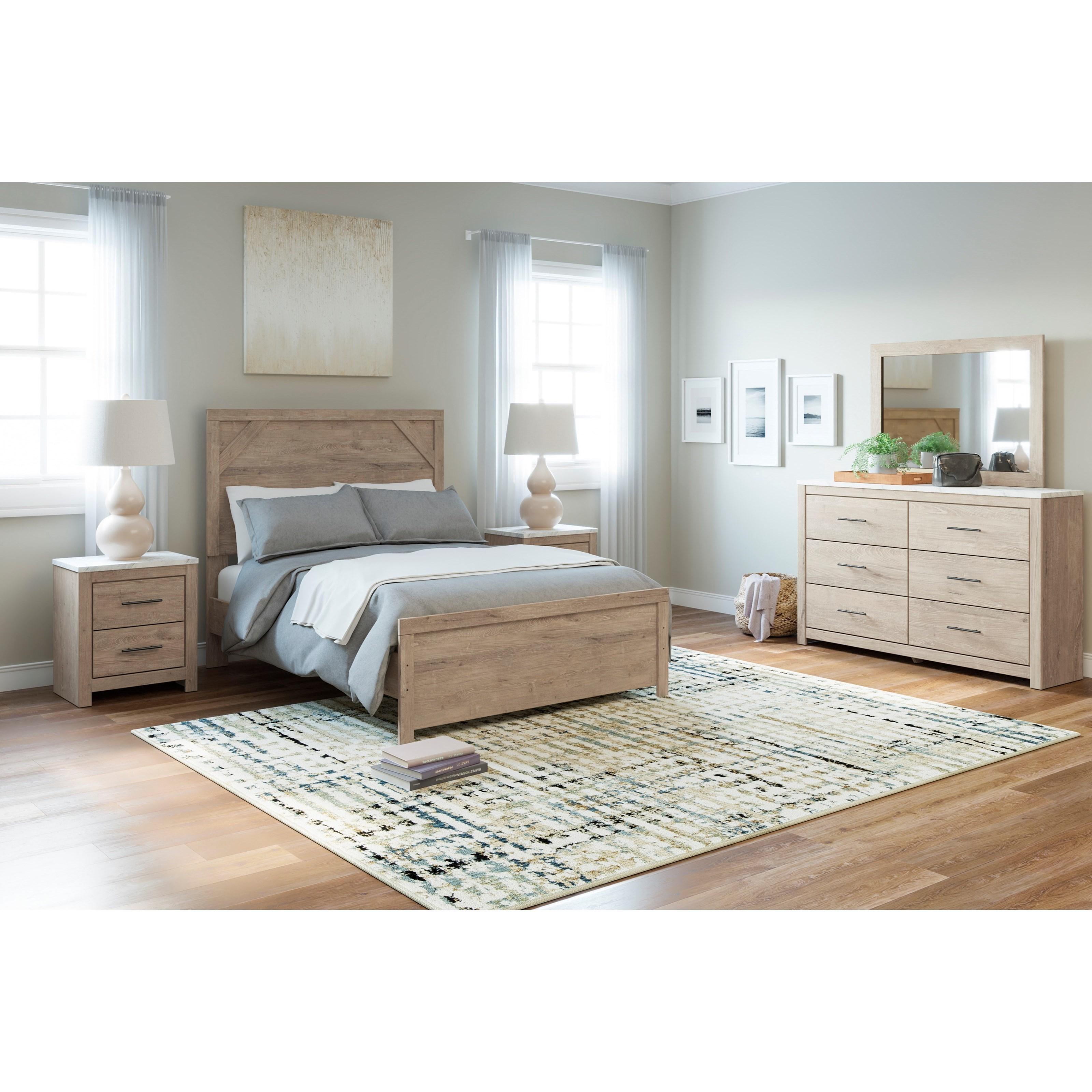 Senniberg Full Bedroom Group by Ashley (Signature Design) at Johnny Janosik