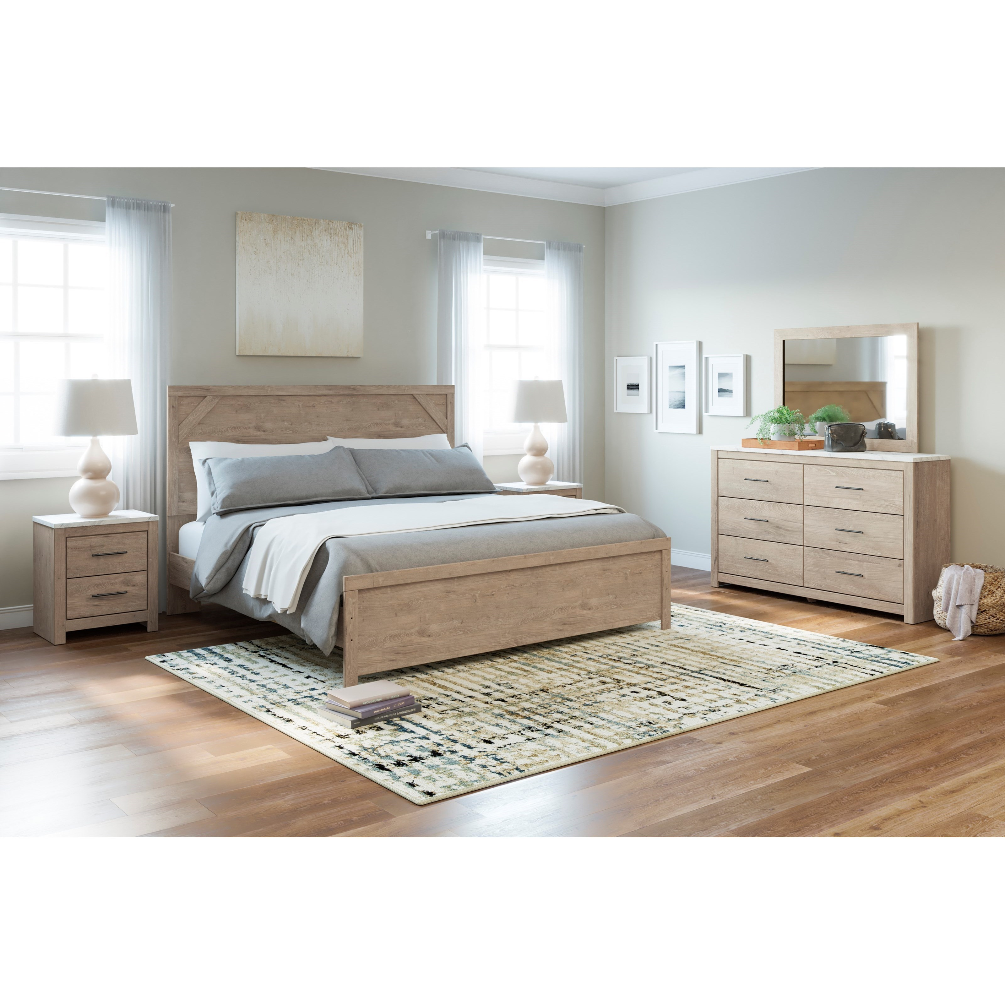 Senniberg King Bedroom Group by Signature Design by Ashley at Suburban Furniture