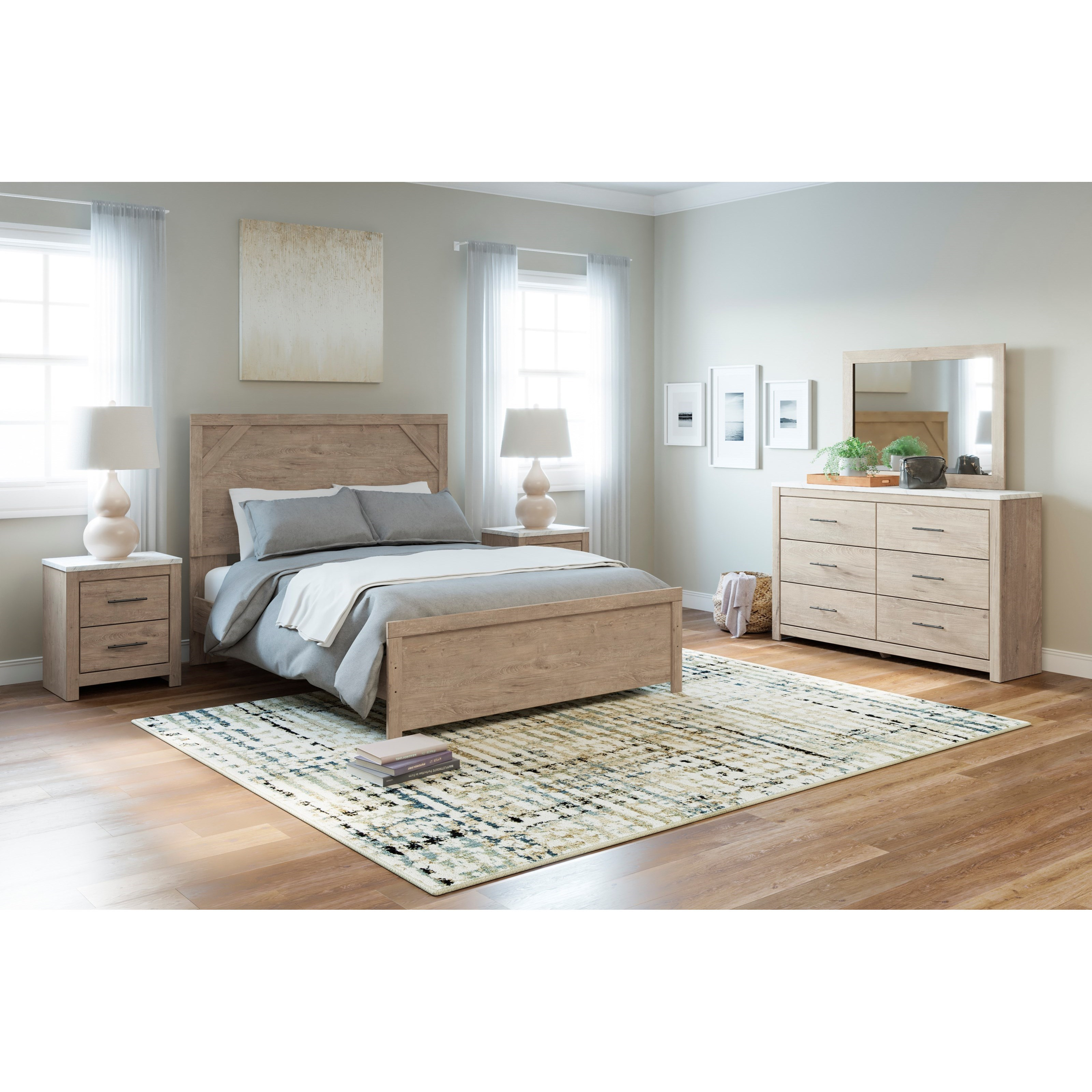 Senniberg Queen Bedroom Group at Sadler's Home Furnishings