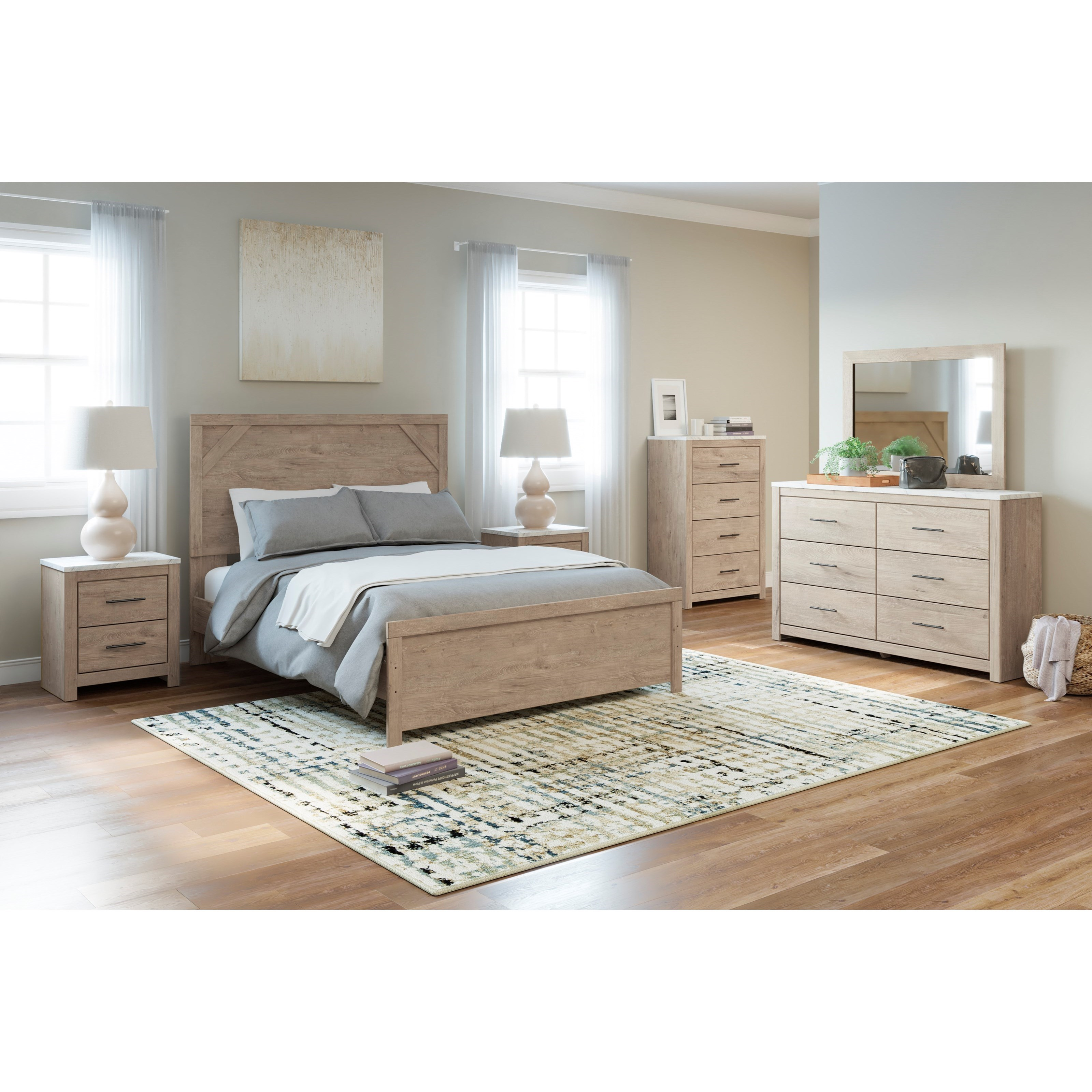 Senniberg Queen Bedroom Group by Signature Design by Ashley at Furniture Barn