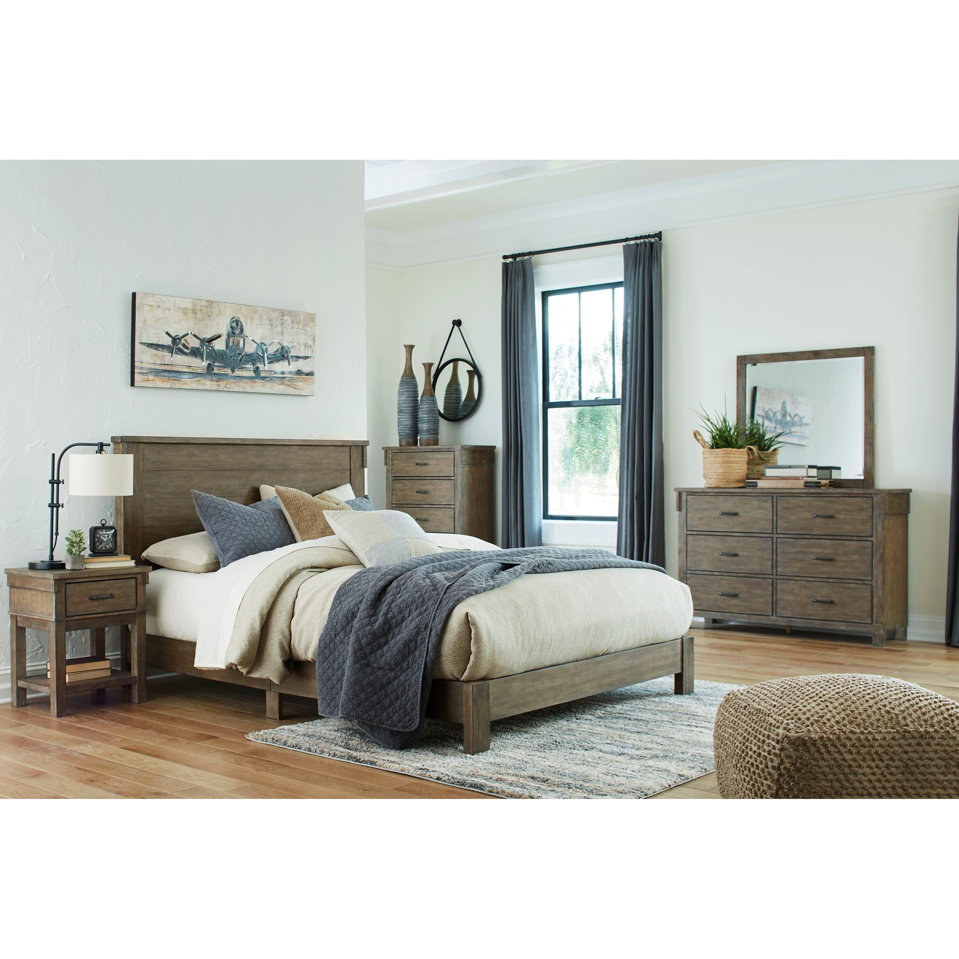 Shamryn Queen Bedroom Group by Ashley (Signature Design) at Johnny Janosik