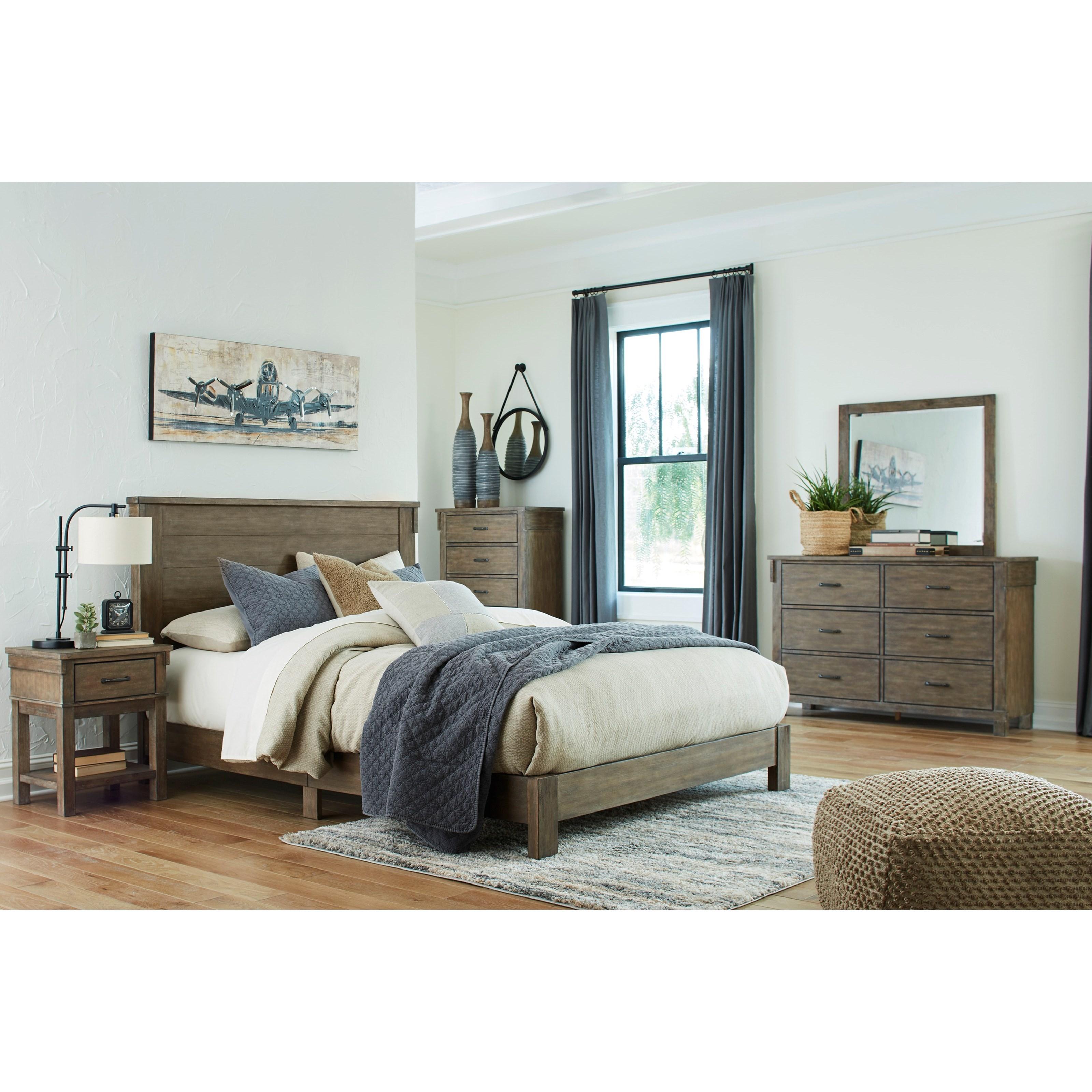 Shamryn King Bedroom Group by Signature at Walker's Furniture