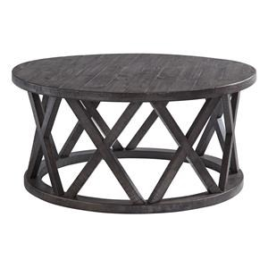 Round Cocktail Table and Round End Table Set
