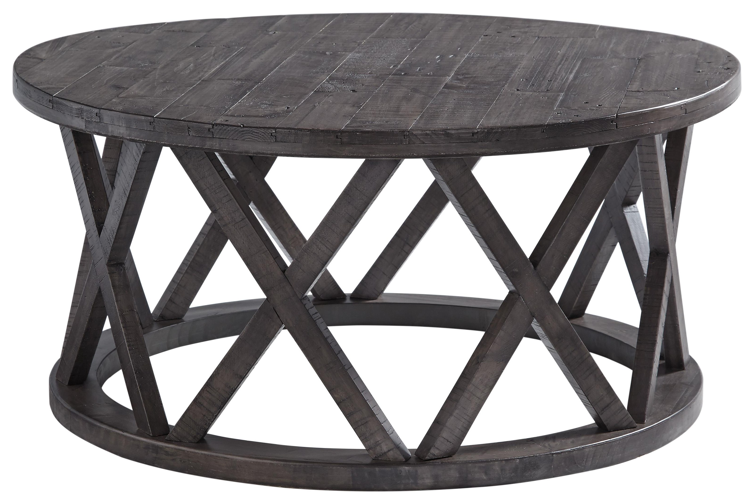 Sharzane Cocktail Table and 2 End Tables Set by Signature Design by Ashley at Sam Levitz Outlet