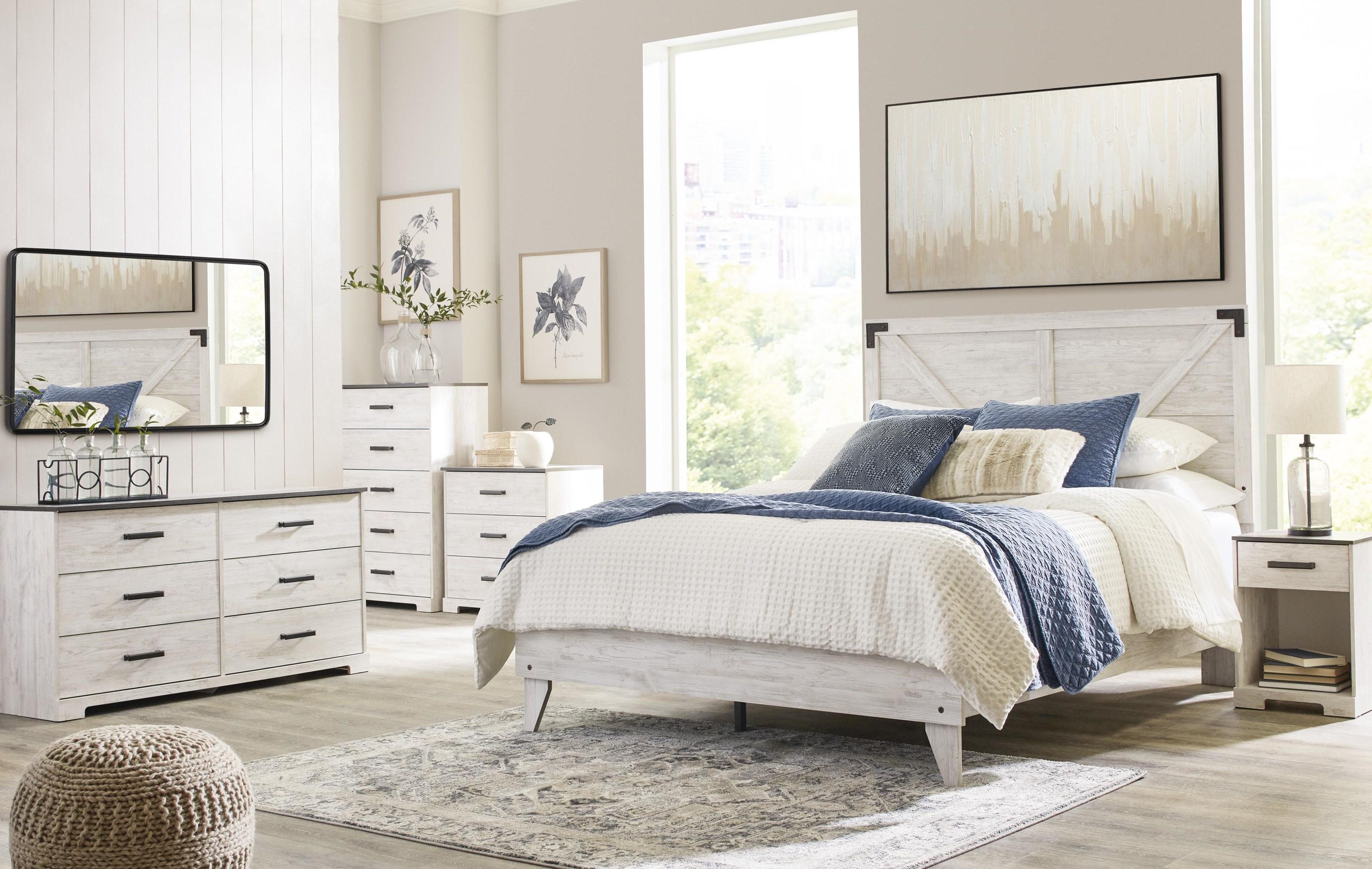 Shawburn 3 Piece Full Bedroom Set by Signature Design by Ashley at Sam Levitz Furniture