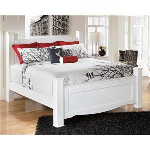Signature Design by Ashley Weeki King Poster Bed