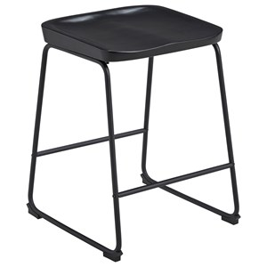 Counter Height Barstool with Sled Legs