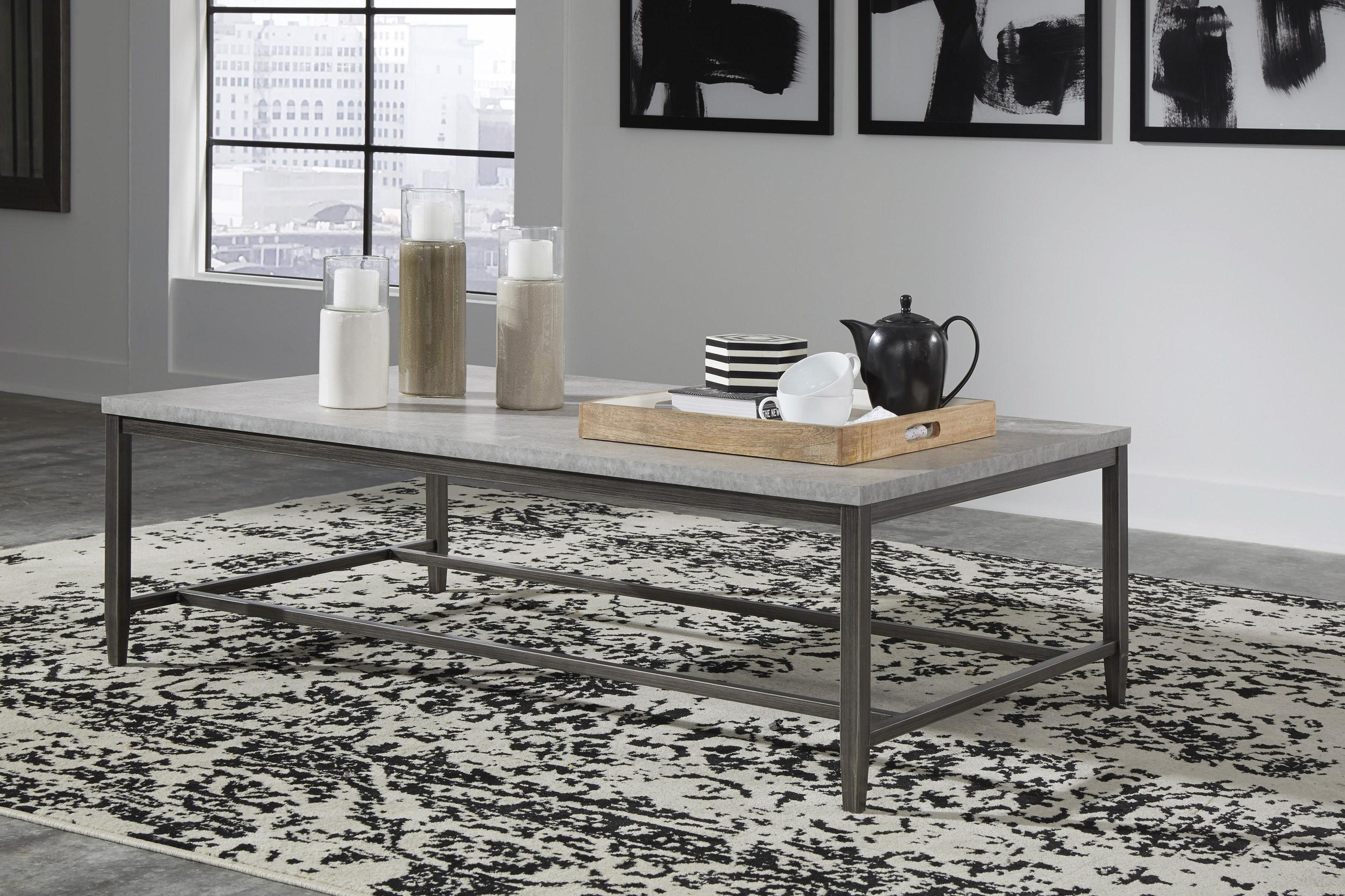 Shybourne 3 Piece Coffee Table Set by Signature Design by Ashley at Sam Levitz Furniture
