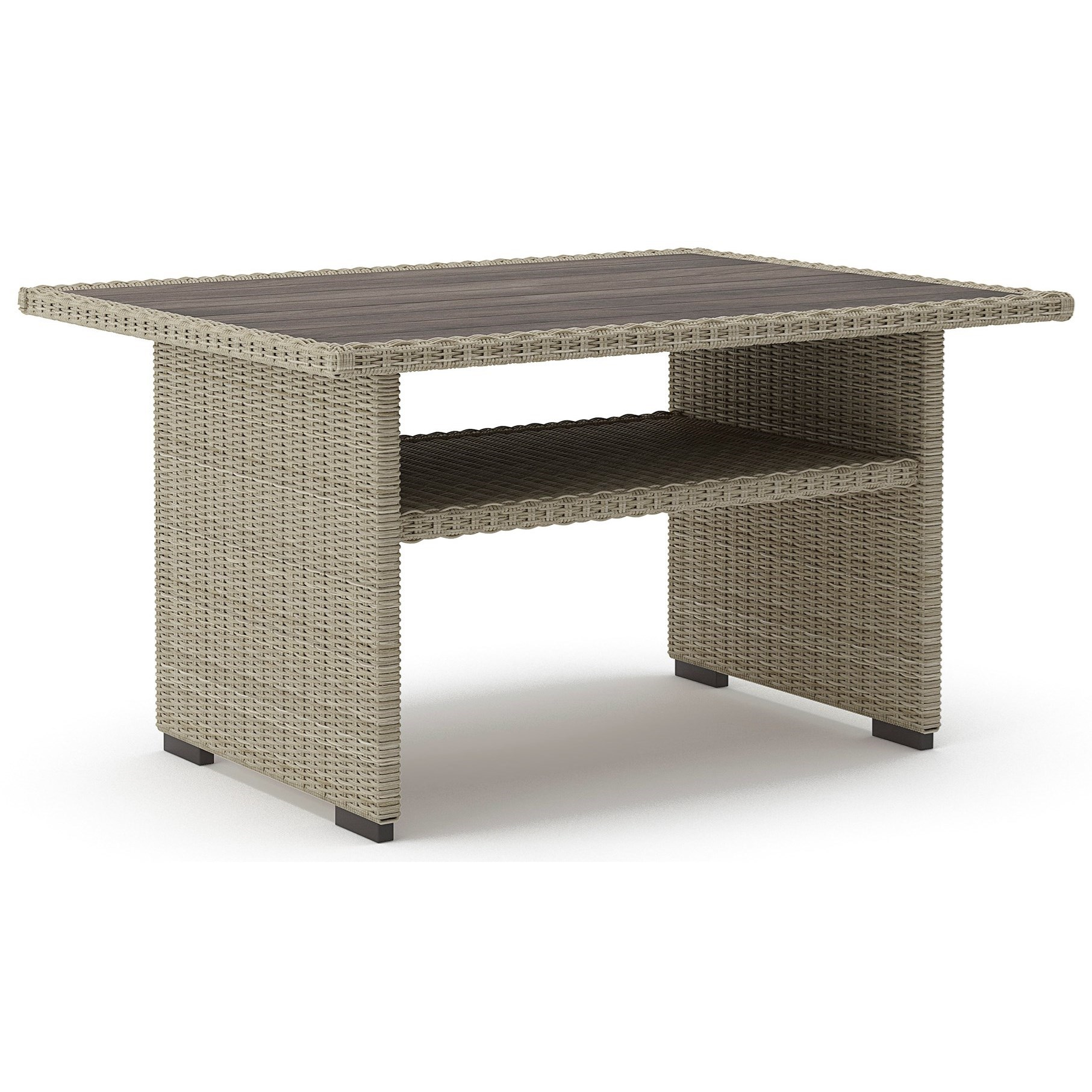 Silent Brook Rectangular Multi-Use Table by Signature at Walker's Furniture