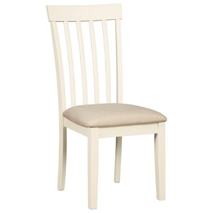 Upholstered Dining Side Chair with Upholstered Seat