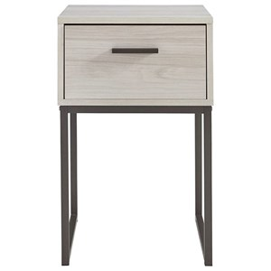 Contemporary Nightstand with Drawer