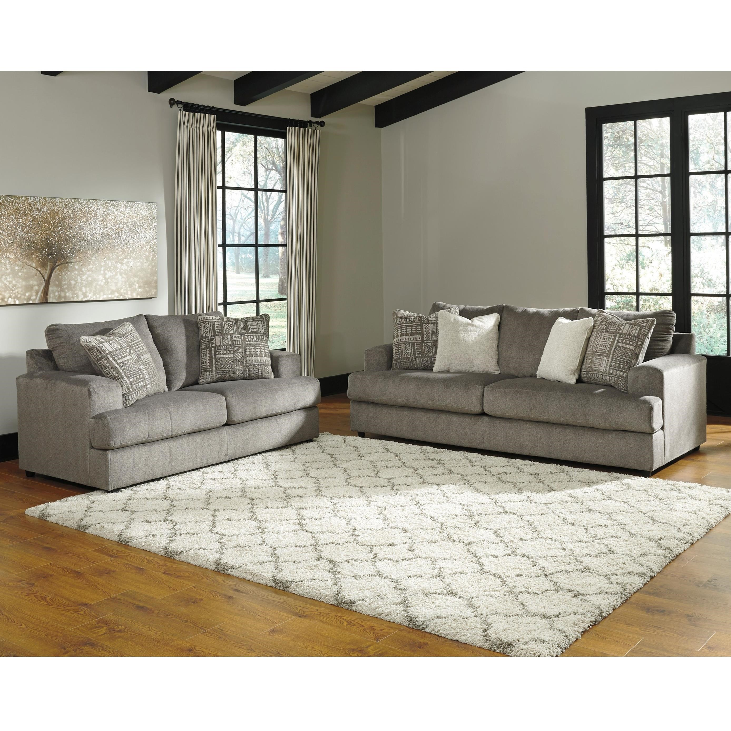 Soletren Stationary Living Room Group by Signature Design by Ashley at Northeast Factory Direct