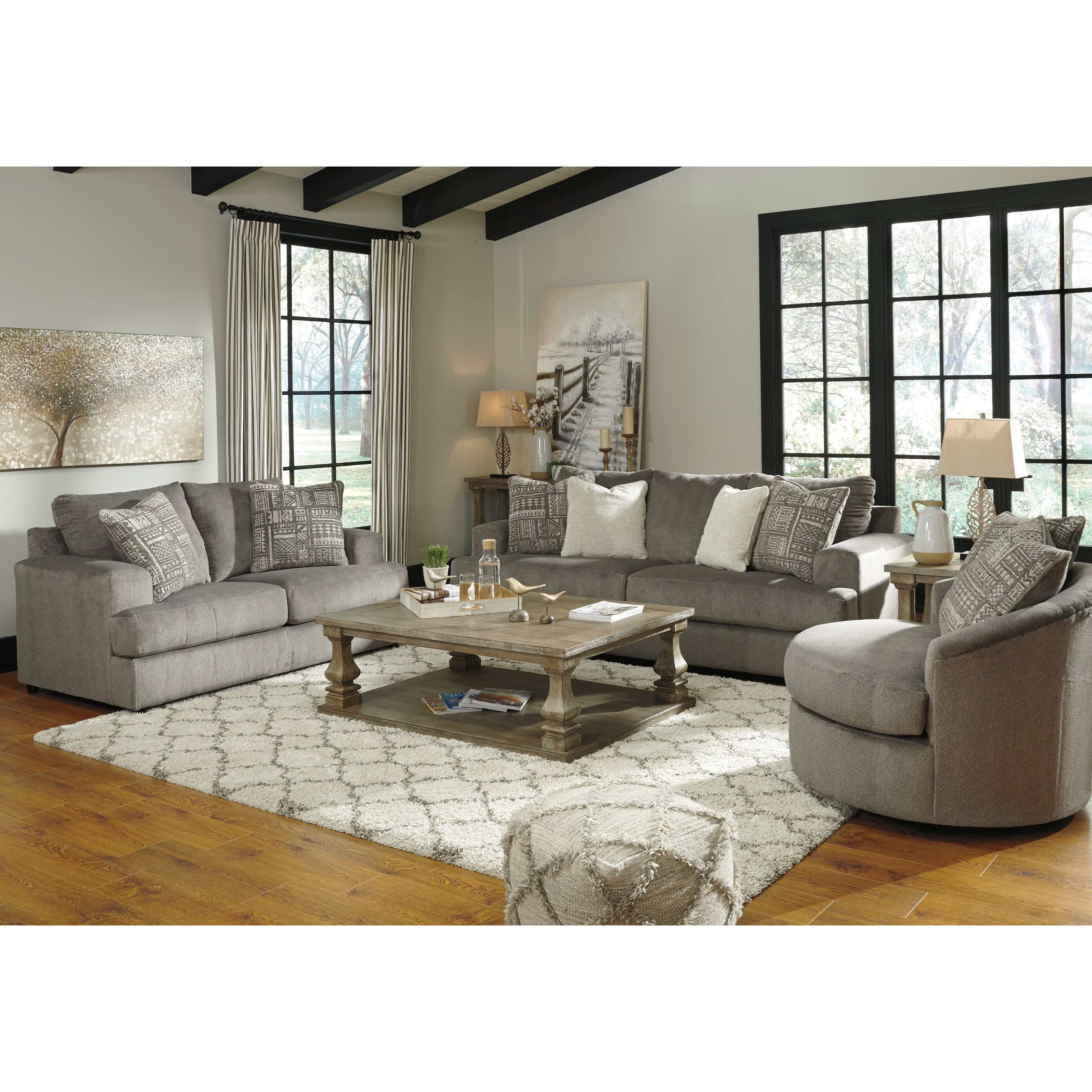 Soletren Stationary Living Room Group by Ashley (Signature Design) at Johnny Janosik