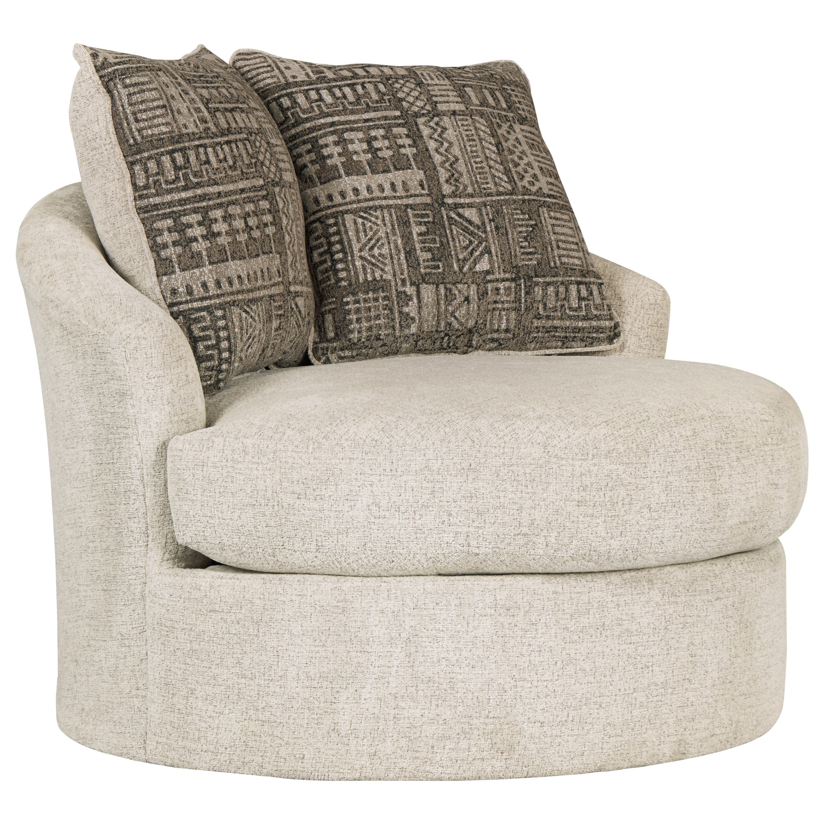 Soletren Swivel Accent Chair by Signature Design by Ashley at Northeast Factory Direct