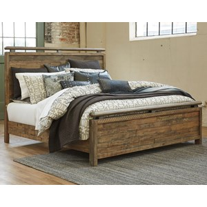 Signature Design by Ashley Sommerford California King Panel Bed