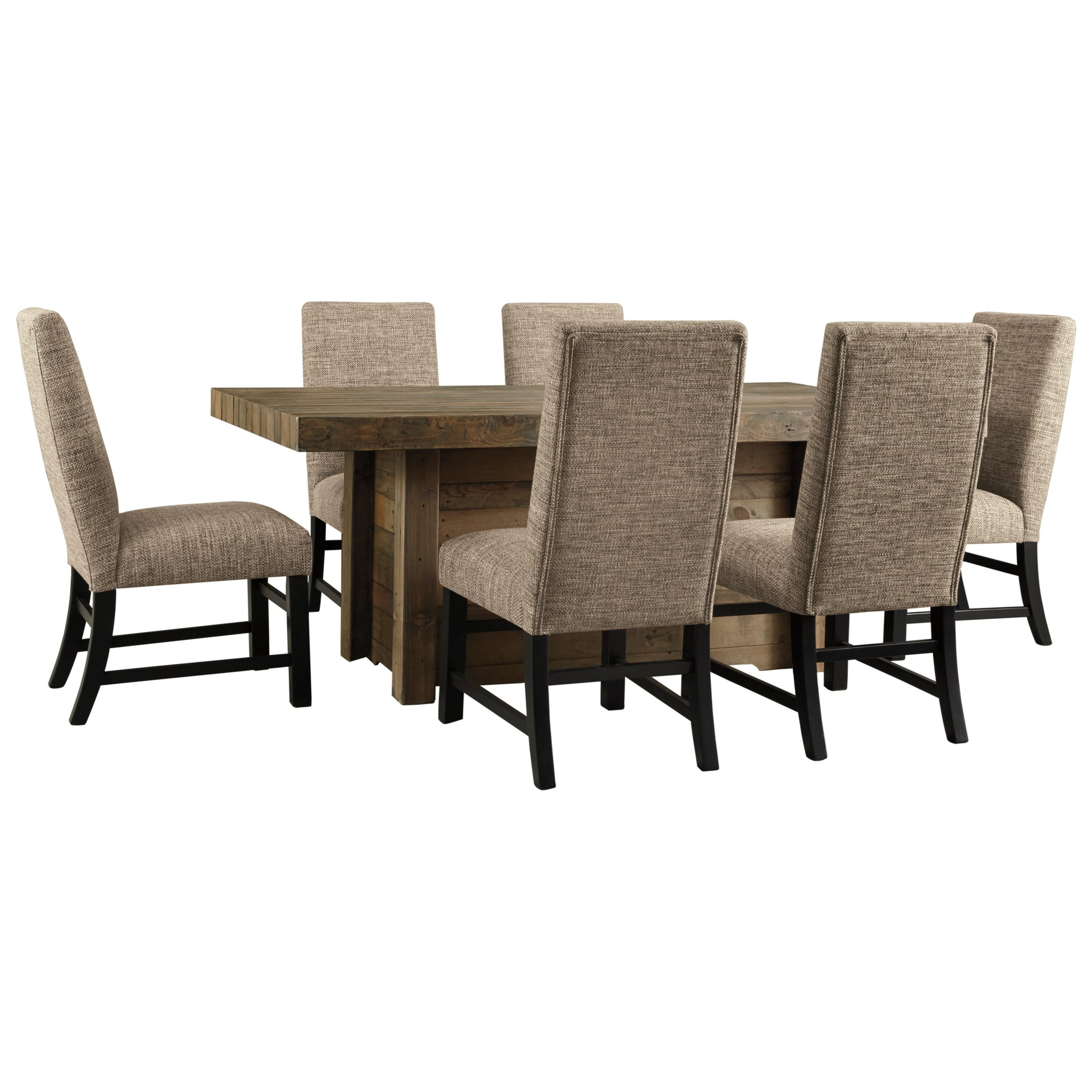 Sommerford 7-Piece Rectangular Dining Room Table Set by Signature Design by Ashley at Carolina Direct