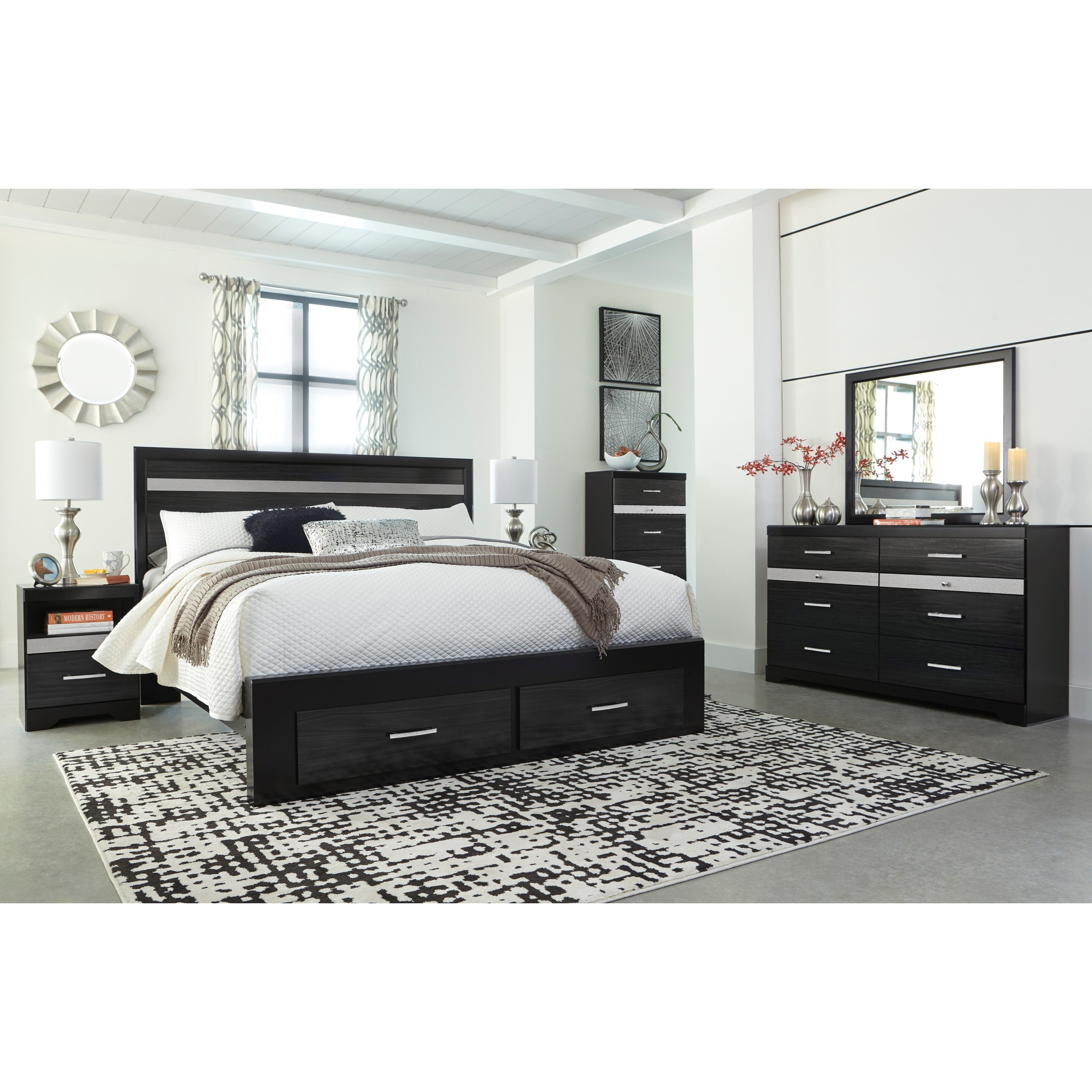 Starberry King Bedroom Group by Ashley (Signature Design) at Johnny Janosik