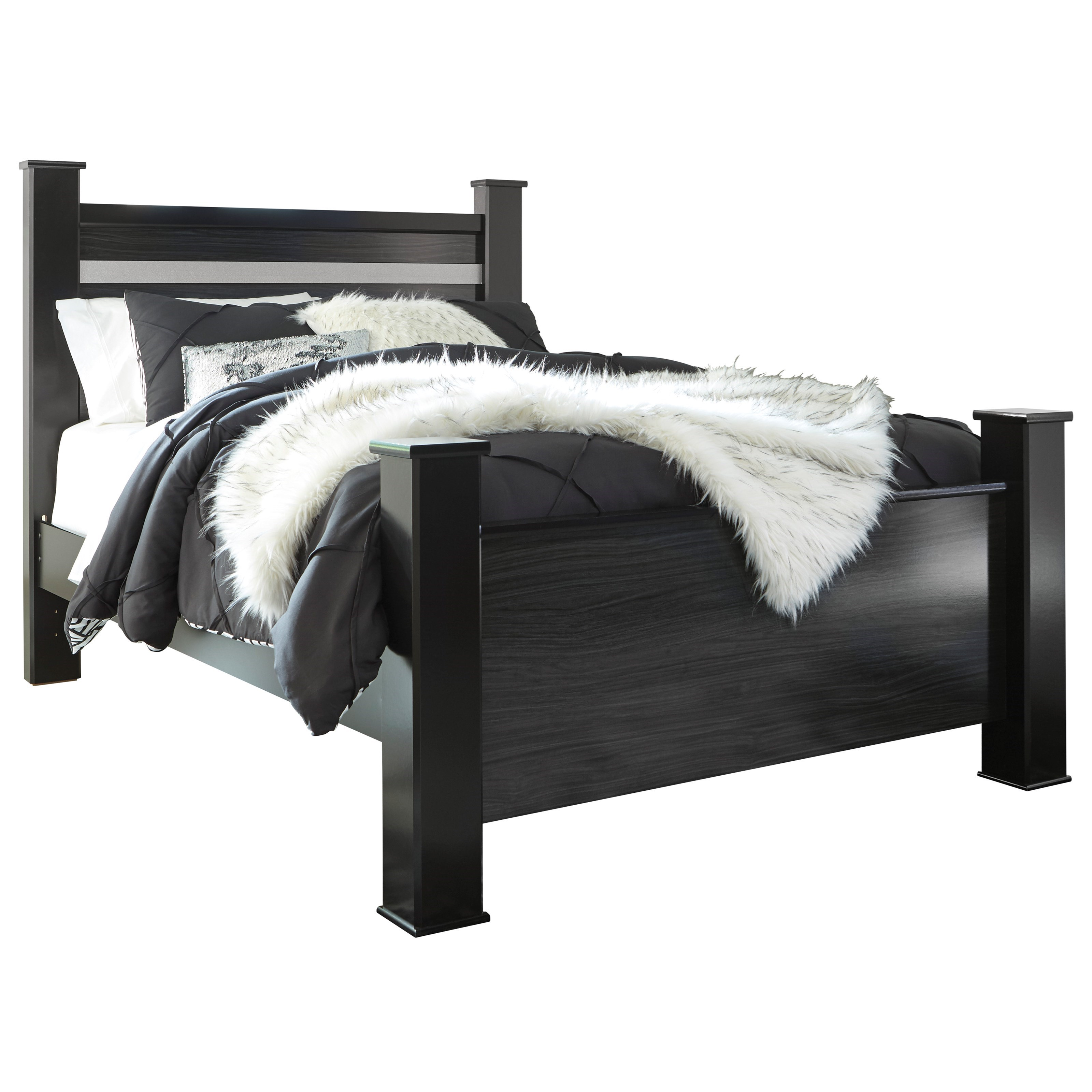 Starberry Queen Poster Bed by Ashley (Signature Design) at Johnny Janosik