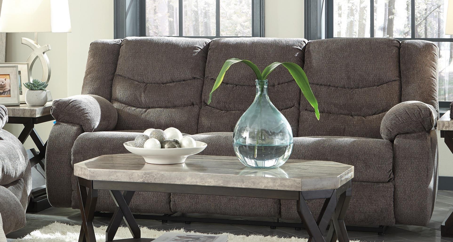 Stark Stark Reclining Sofa by Ashley at Morris Home