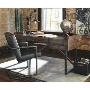 Home Office Desk and Desk Chair Set