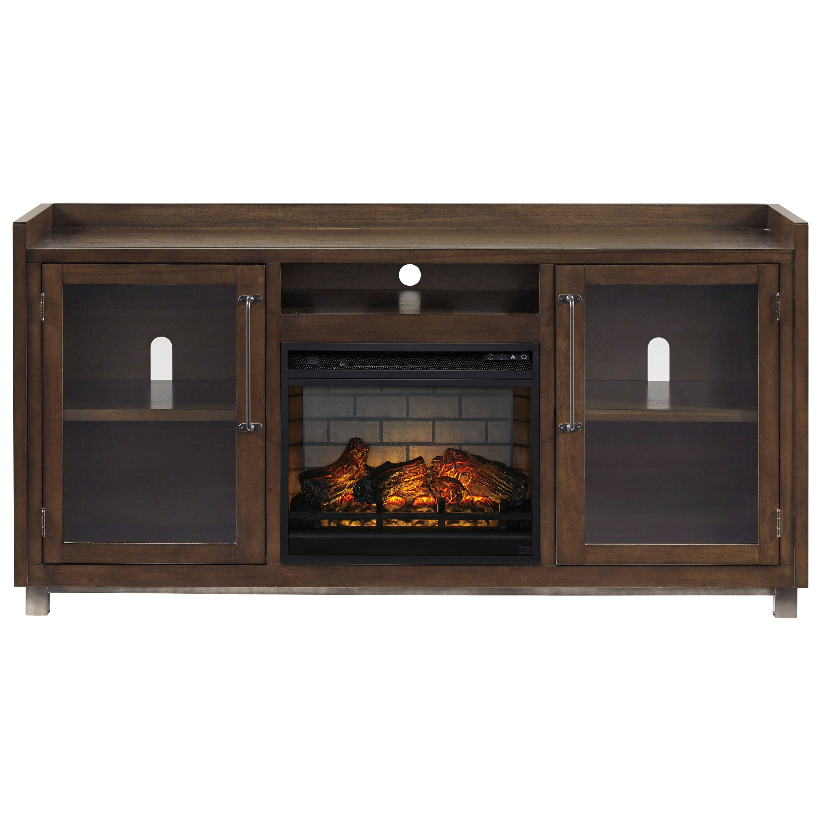 Starmore XL TV Stand w/ Fireplace by Signature Design by Ashley at Zak's Warehouse Clearance Center