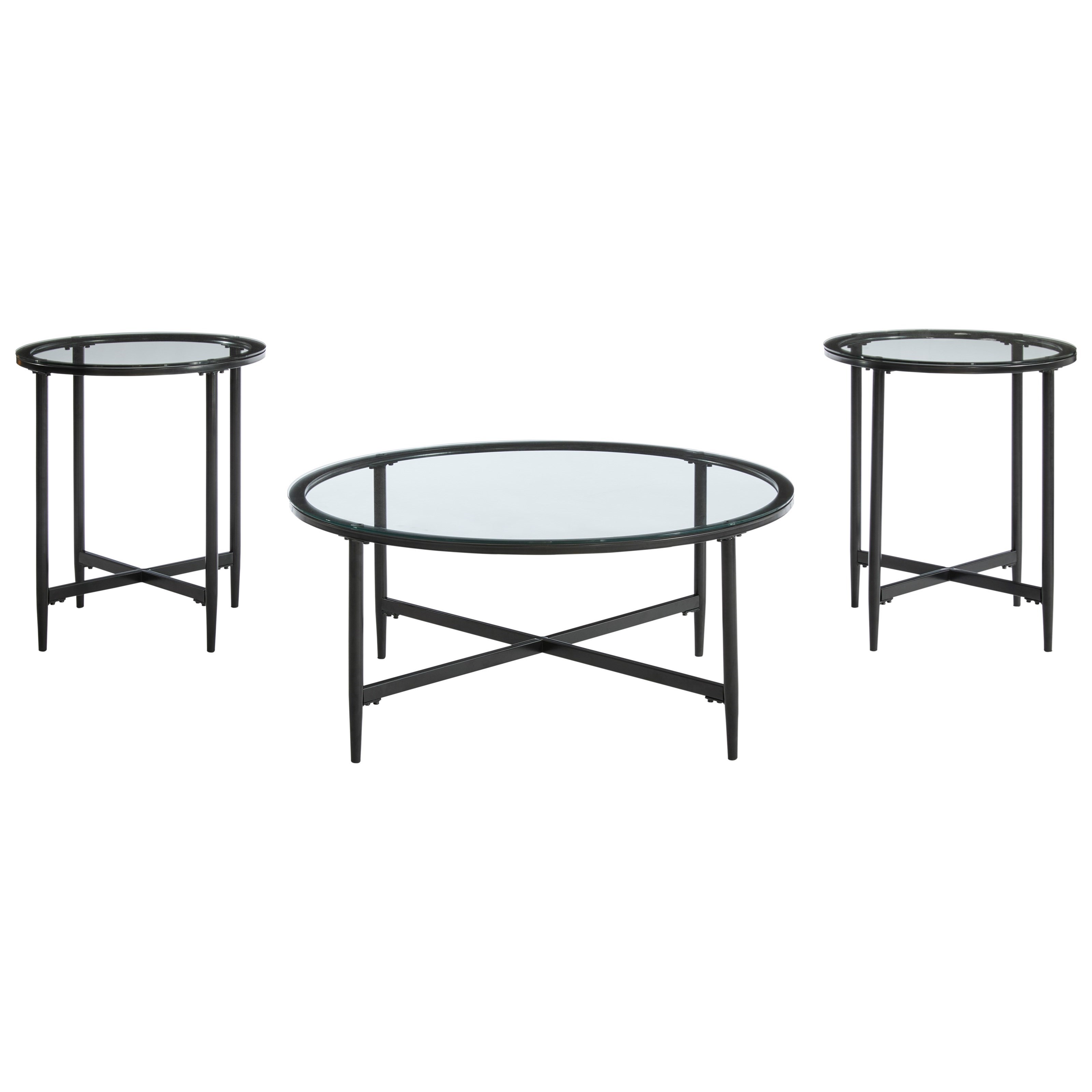 Stetzer 3-Piece Accent Table Set by Signature Design by Ashley at Furniture Barn