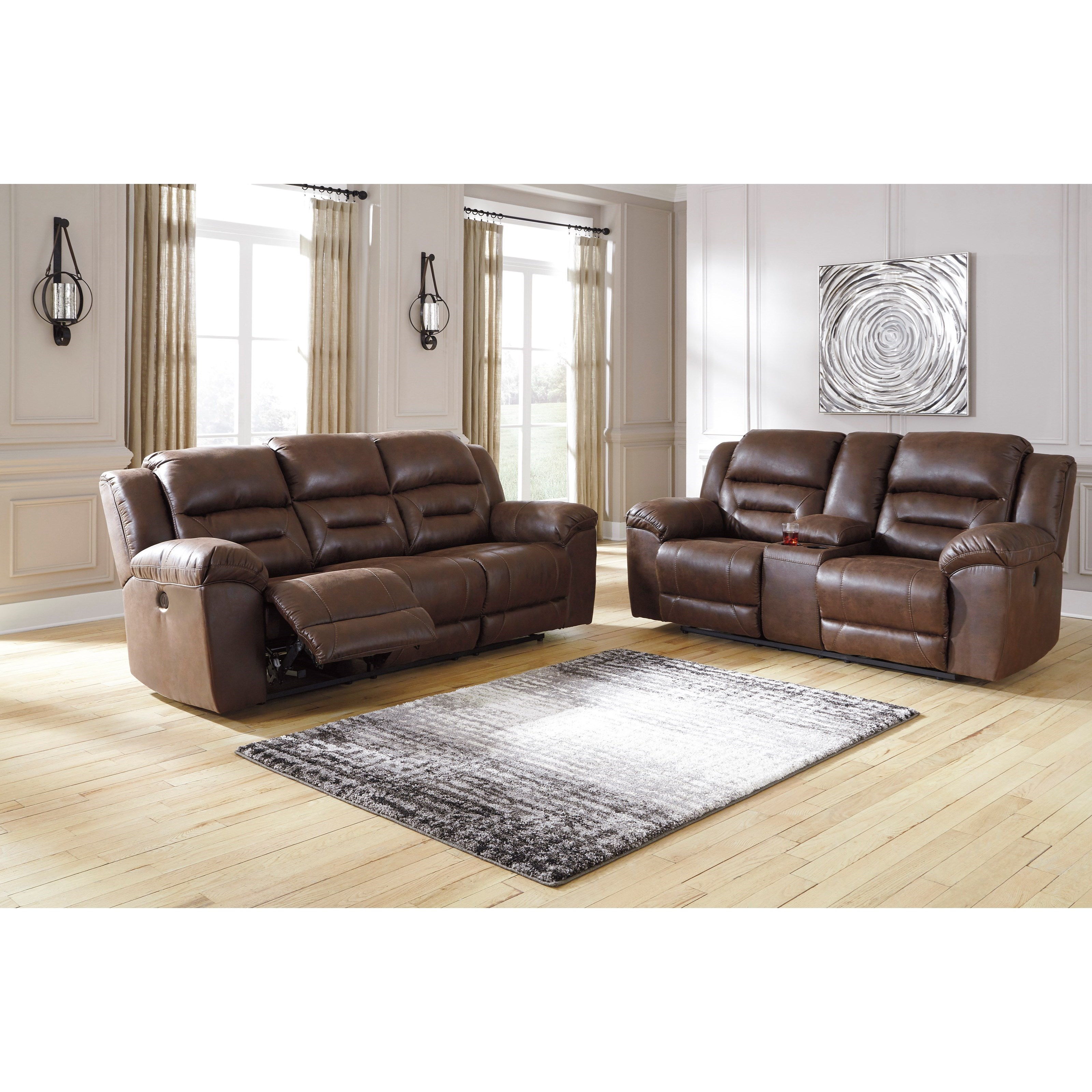 Stoneland Power Reclining Living Room Group by Signature Design by Ashley at Zak's Warehouse Clearance Center