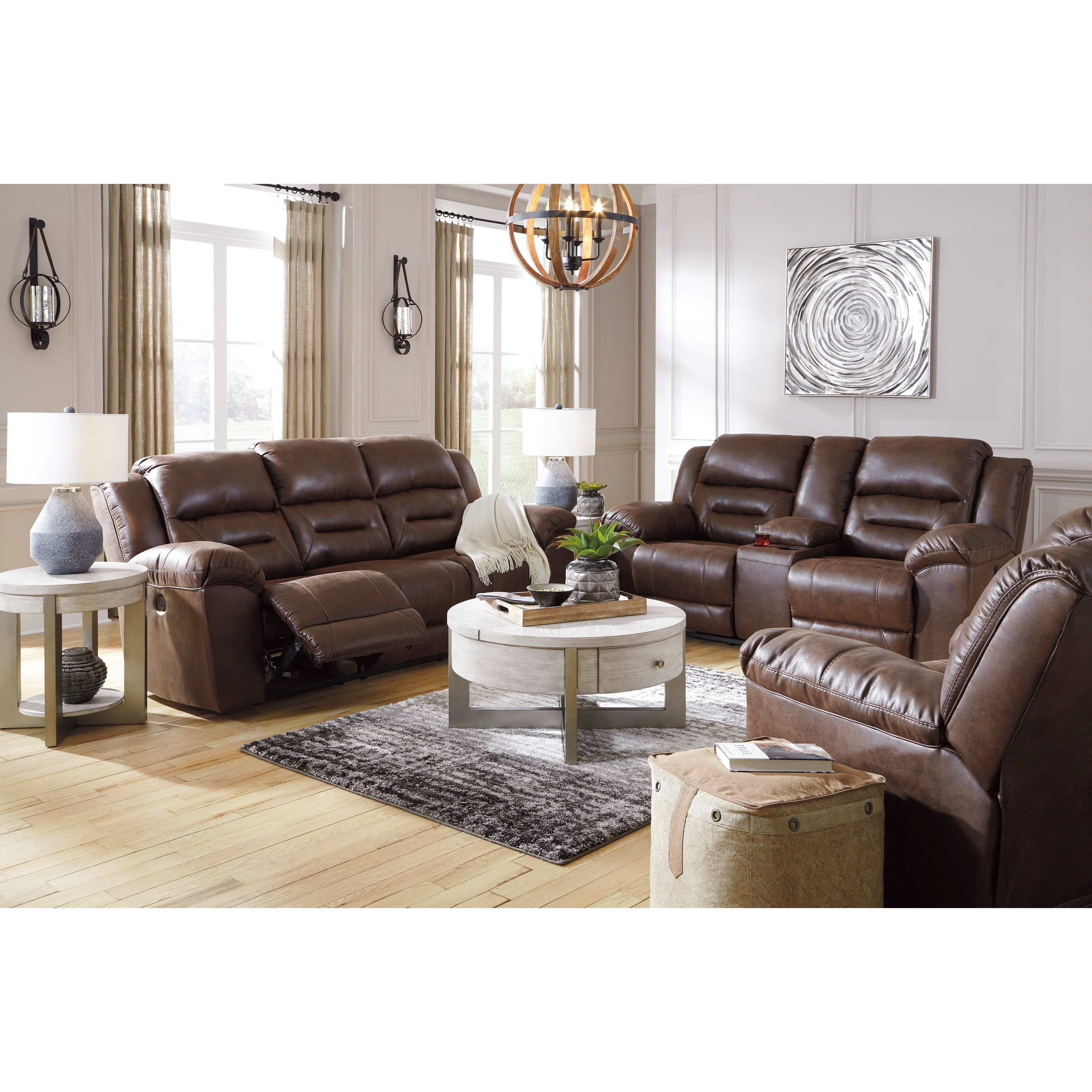 Stoneland Power Reclining Living Room Group by Signature Design by Ashley at Darvin Furniture