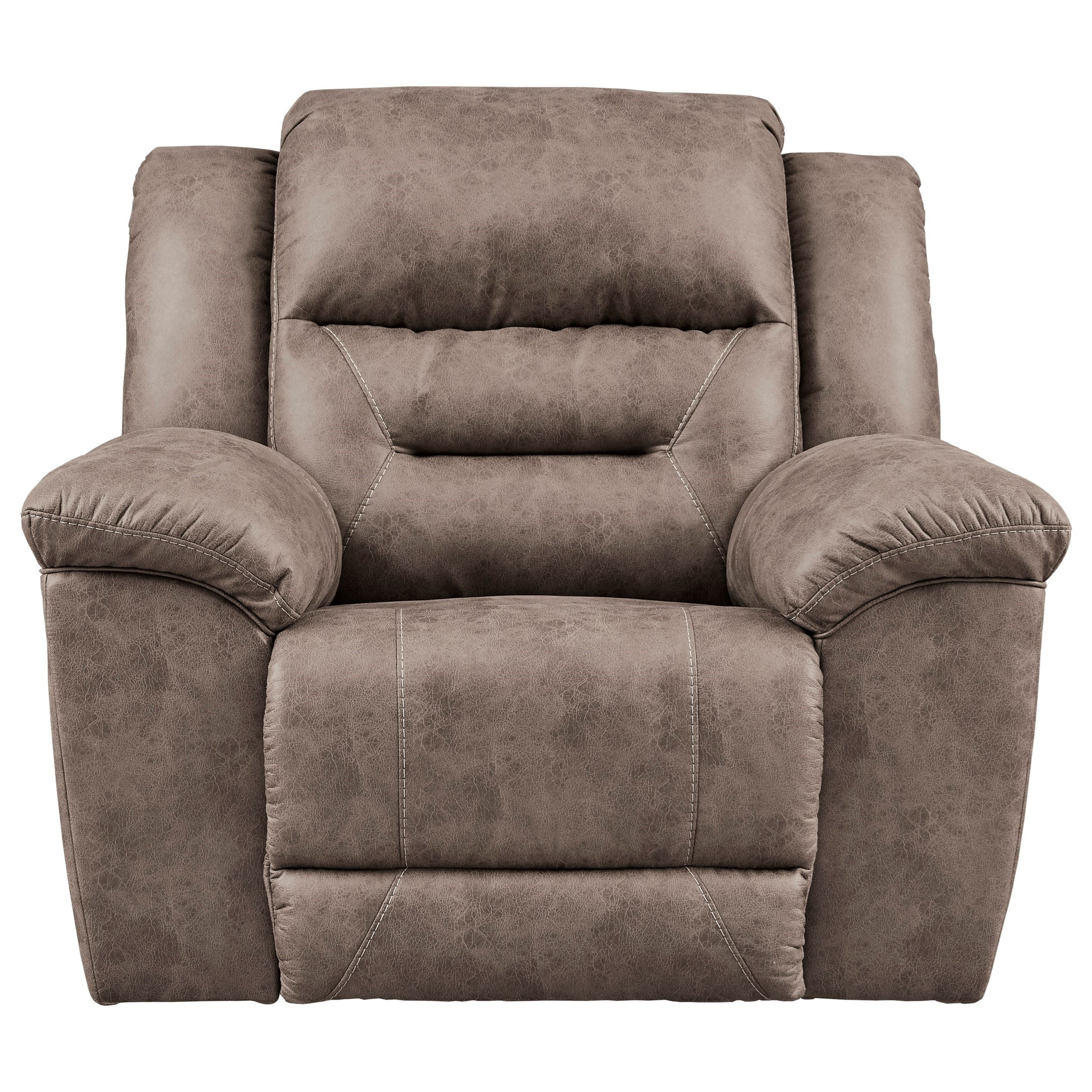 Stoneland Rocker Recliner by Ashley (Signature Design) at Johnny Janosik